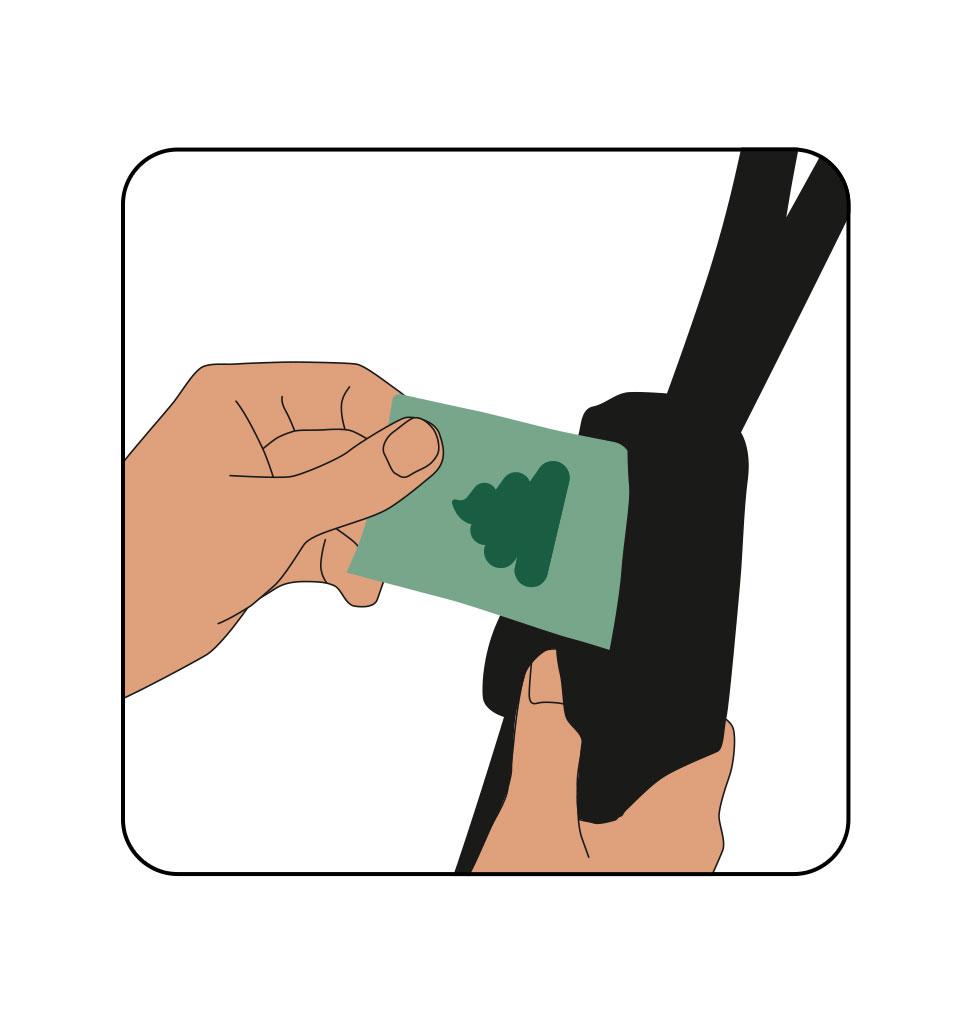 Trailstone leash dispenser 2